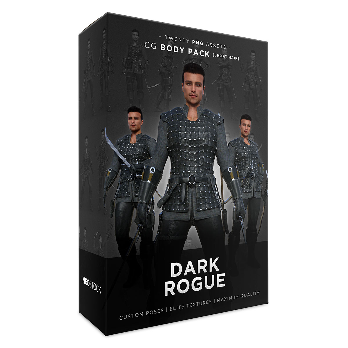 male dark rogue product box