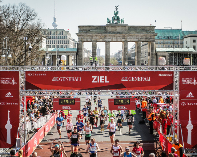 Meta Medio Maraton Berlín Travelmarathon.es