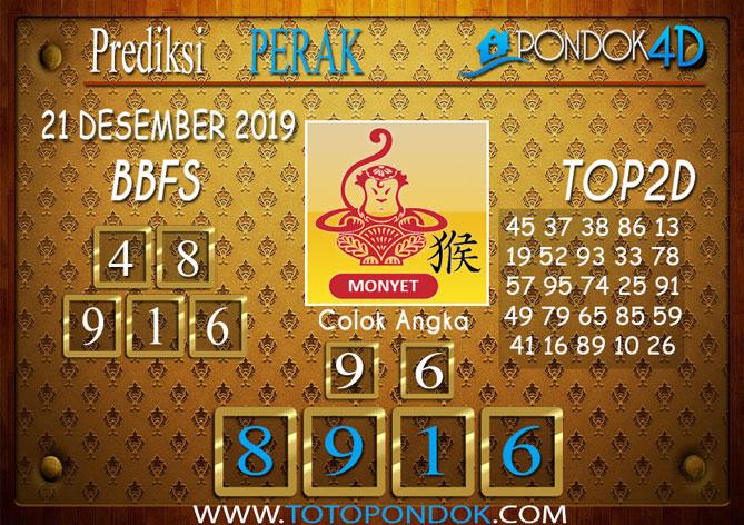 Prediksi Togel PERAK PONDOK4D 21 DESEMBER 2019
