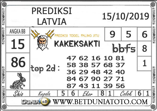 """Prediksi Togel """"LATVIA"""" DUNIA4D 15 OKTOBER 2019"""