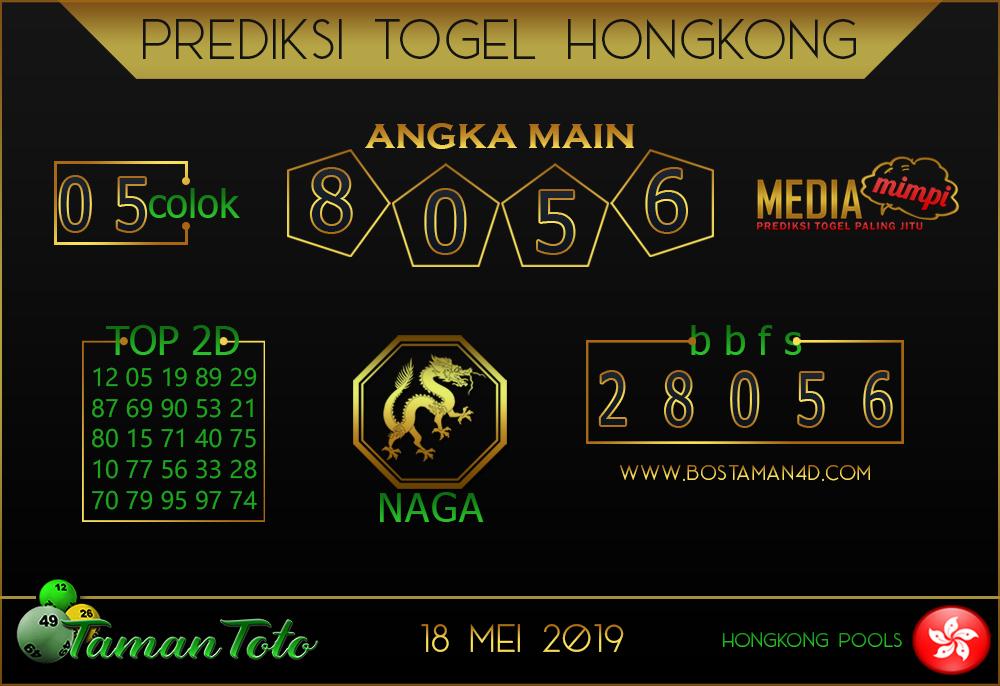 Prediksi Togel HONGKONG TAMAN TOTO 17 MEI 2019