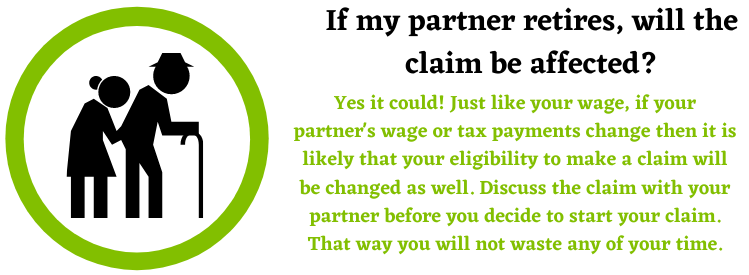 partner affecting your claim