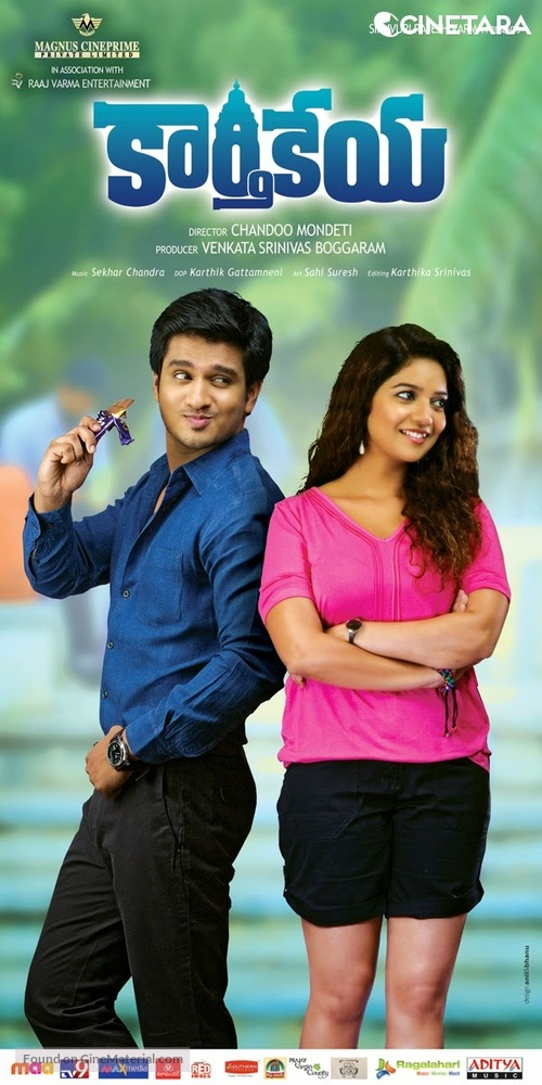 Karthikeya (2020) Dual Audio [Hindi+Telegu] Uncut 720p HDRip x264 700MB Download