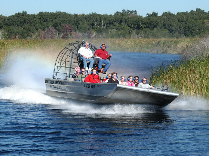 Boggy Creek Airboat Ride Florida