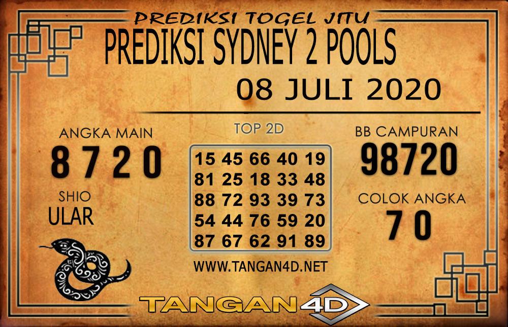 PREDIKSI TOGEL SYDNEY 2 TANGAN4D 08 JULI 2020