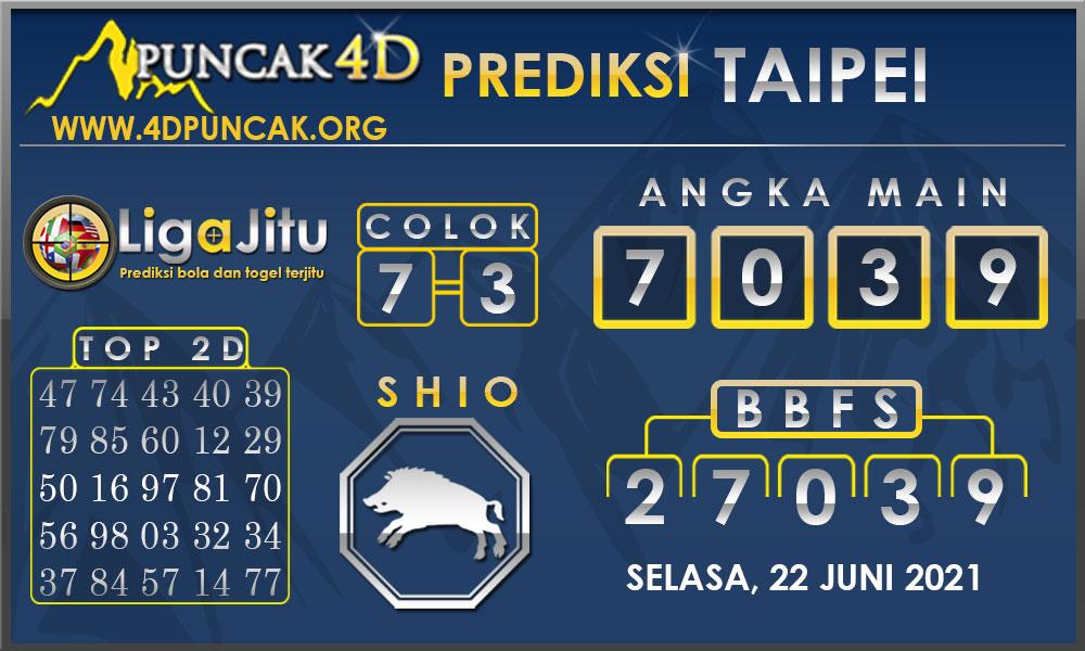 PREDIKSI TOGEL TAIPEI PUNCAK4D 22 JUNI 2021