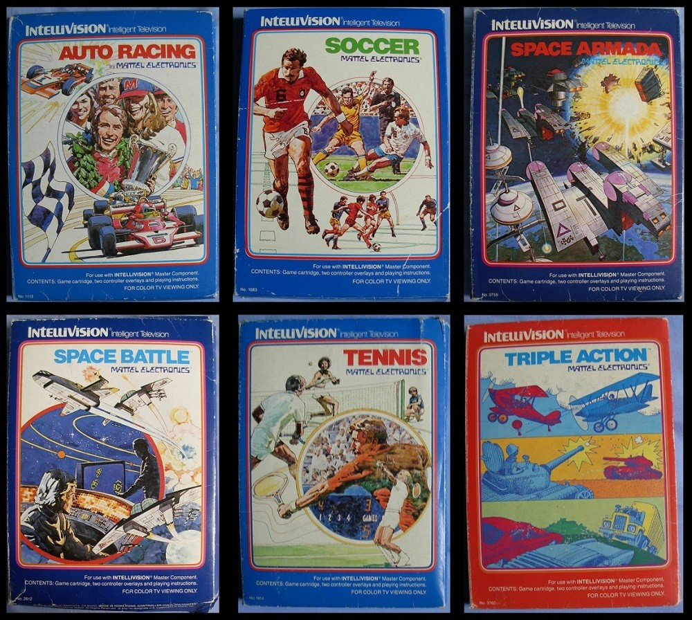 Intellivision-Jeux