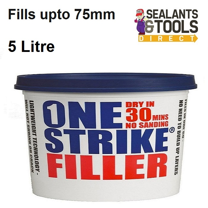 Everbuild One Strike Decorating Filler 5 litre ONES5