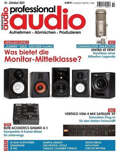 Cover: Professional Audio Magazin No 10 Oktober 2021