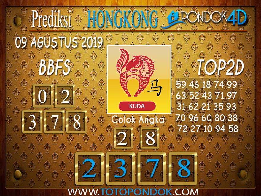 Prediksi Togel HONGKONG PONDOK4D 09 AGUSTUS 2019
