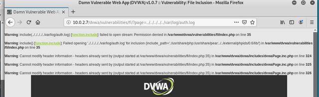 File-inclusion-error