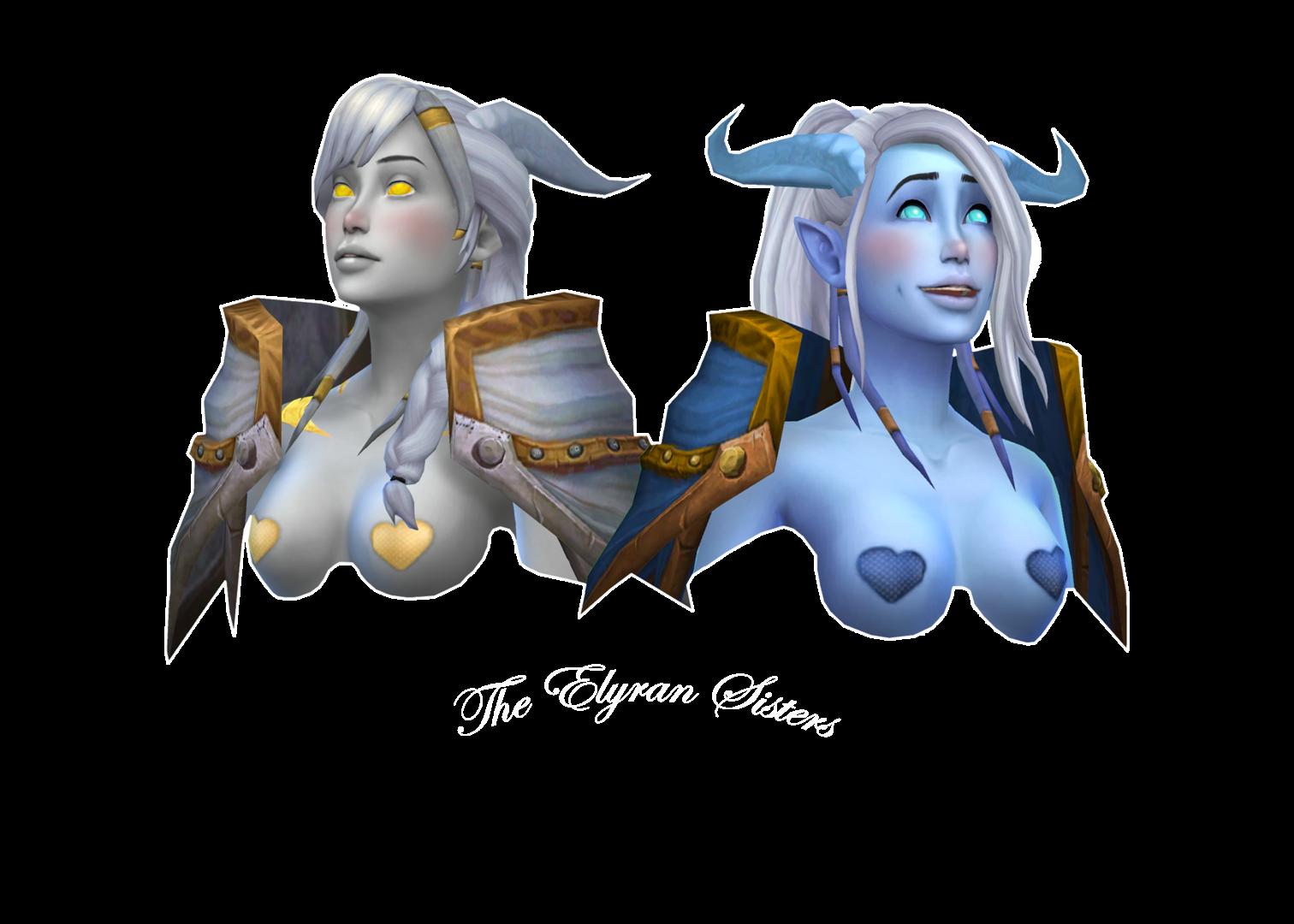 Draenei: The Elyran Sisters