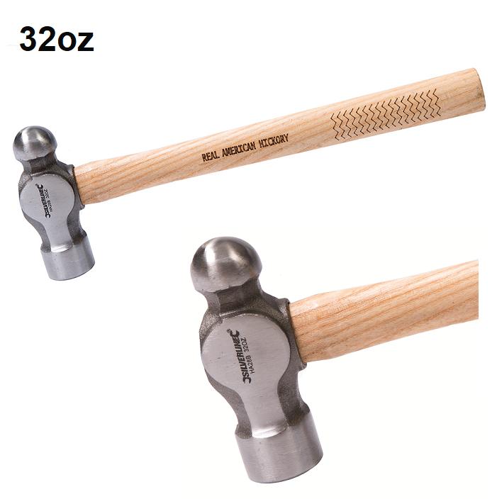Silverline-Hickory-Ball-Pein-Hammer-32oz-HA28-B