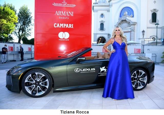 Lexus, voiture Officielle du 77e Festival International du Film de Venise Tizianarocca