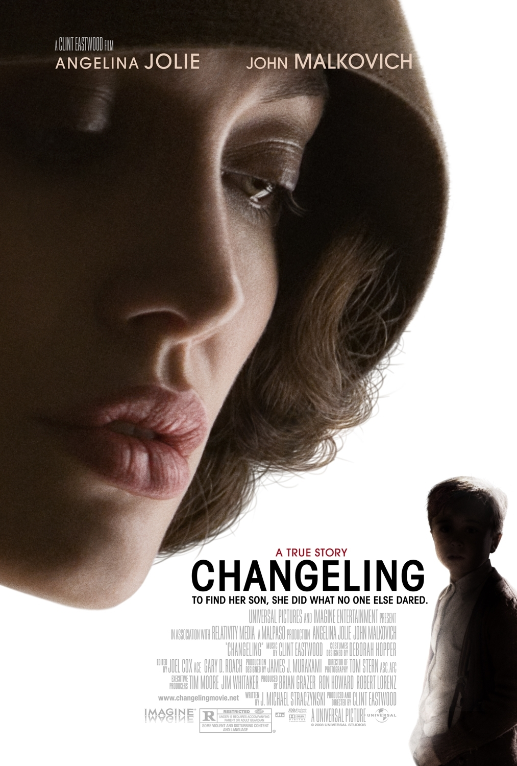 Changeling 2008 Hindi ORG Dual Audio 720p BluRay ESubs 1GB | 500MB Download