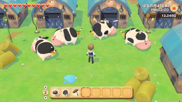 「牧場物語」系列首次在Nintendo SwitchTM平台推出全新製作的作品!  『牧場物語 橄欖鎮與希望的大地』 於今日2月25日(四)發售 002