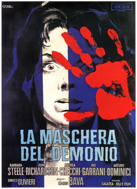 la maschera del demonio mario bava 1960 poster