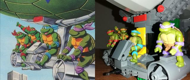 Turtle-blimp