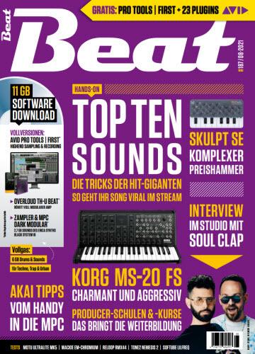 Cover: Beat Musikermagazin No 08 2021