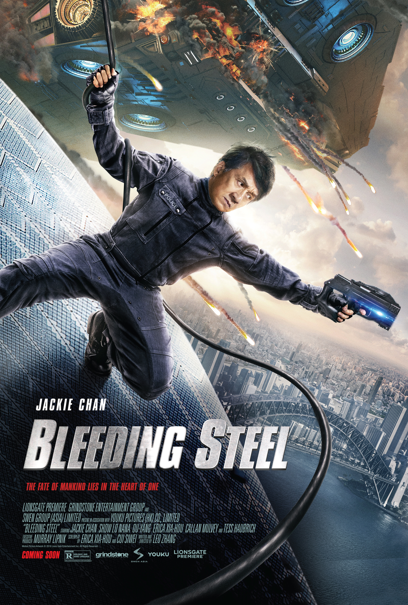 Bleeding Steel 2017 Hindi Dual Audio BluRay 720p