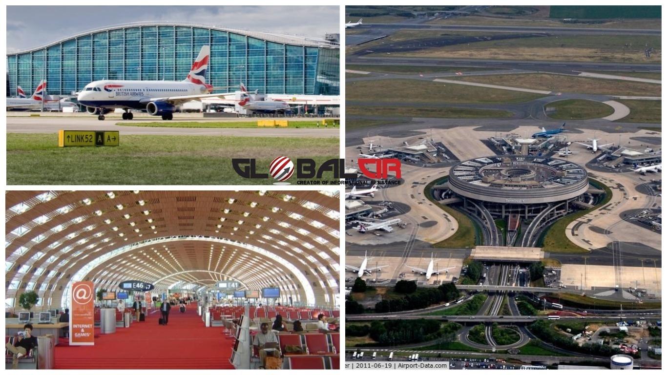 PRETEKAO GA PARISKI 'CHARLES DE GAULLE':  Londonski Heathrow više nije najveći europski aerodrom!
