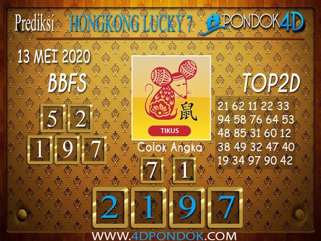 Prediksi Togel HONGKONG LUCKY 7 PONDOK4D 13 MEI 2020