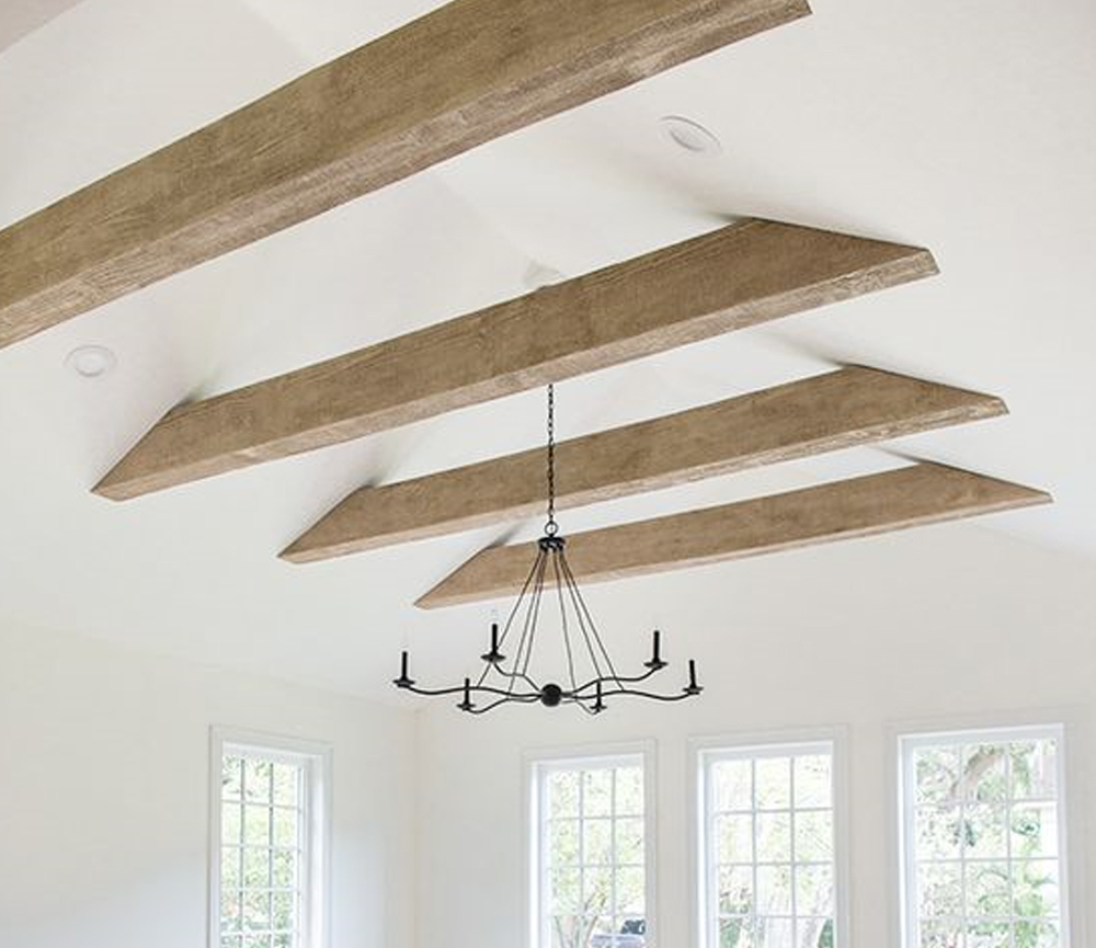 Faux Wood Beams: Heights House | Jenna Sue Design Blog