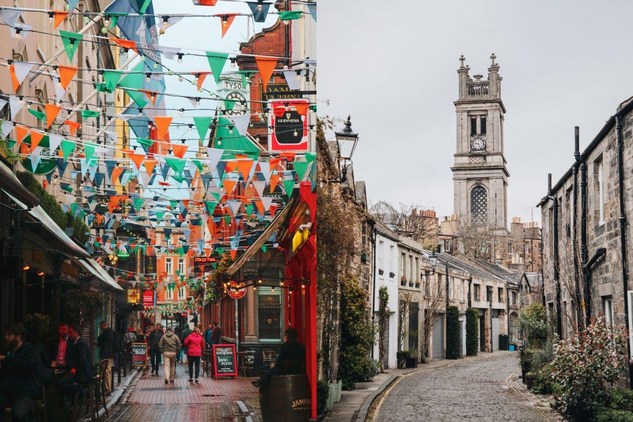 Edinburgh, Scotland and Dublin, Ireland Vacation