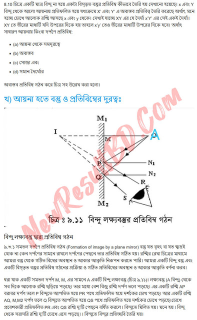 SSC Physics 7th Week Assignment 2021 Answer