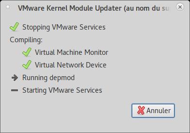 The good way for VMware Kernel Module Updater ?