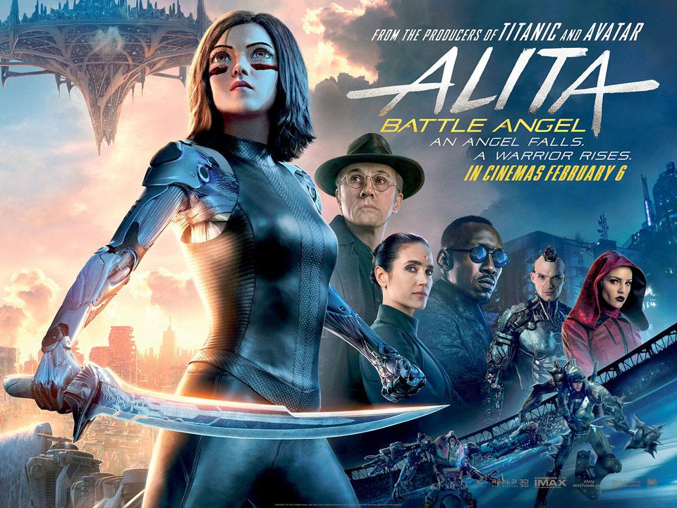 Alita Battle Angel 2019 720p HDCAM[842MB]