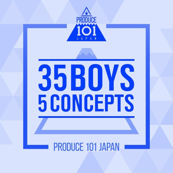 [Album] PRODUCE 101 JAPAN – PRODUCE 101 JAPAN – 35 Boys 5 Concepts