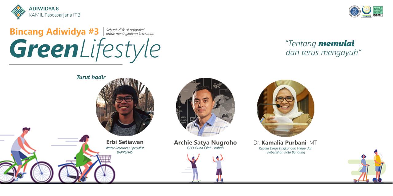 Bincang Adiwidya 3 - Green Lifestyle
