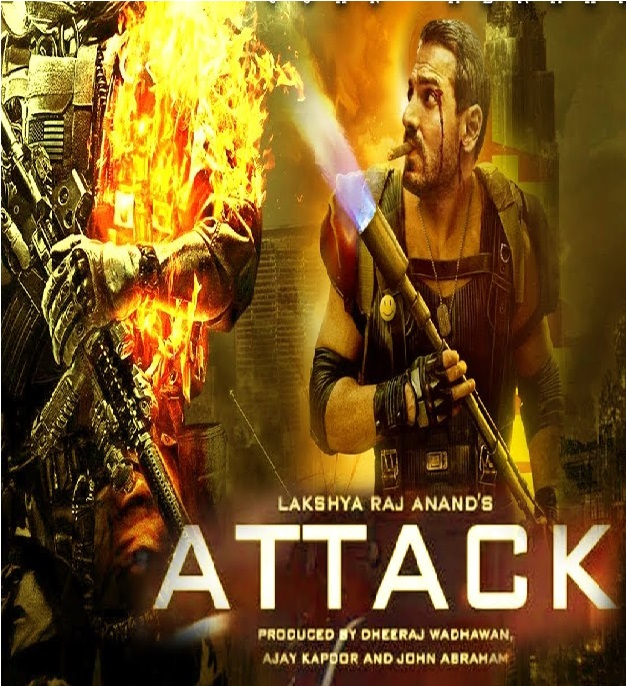 Attack (2020) Hindi Dual Audio 720p BluRay 700MB Download