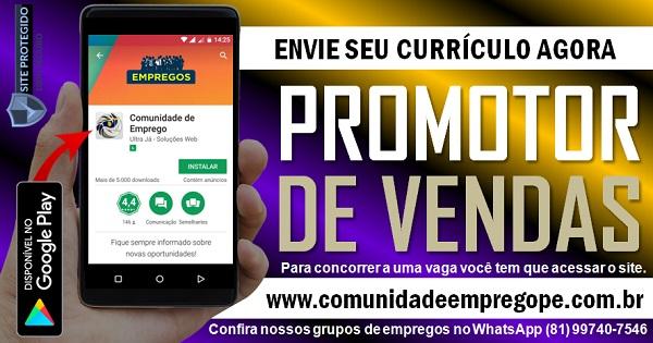 PROMOTOR DE VENDAS COM MOTO PARA EMPRESA DE TERCEIRIZAÇÃO DE SERVIÇOS