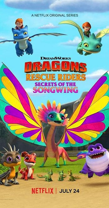 Dragons Rescue Riders Secrets of the Songwing (2020) English 720p HDRip Esubs DL