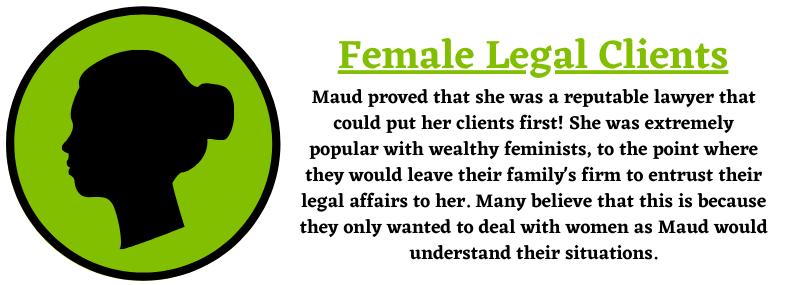 Female Legal Clients Help