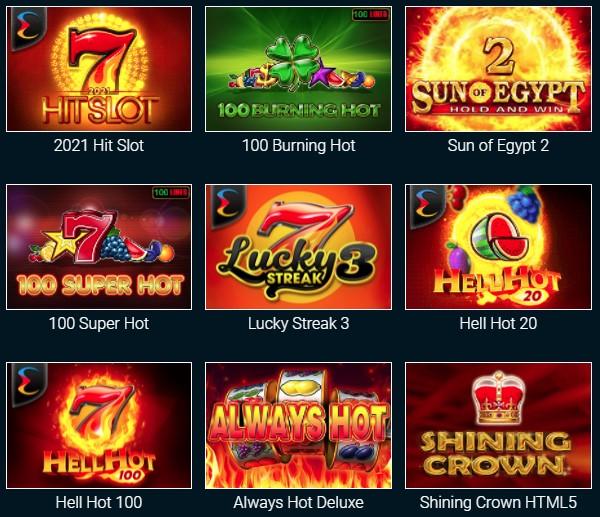 Слоты в онлайн казино