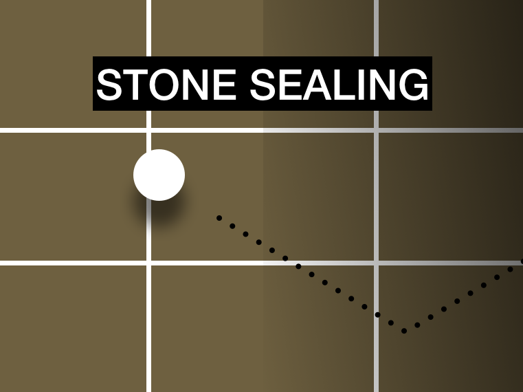 stone sealing