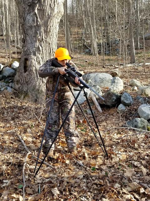 Shooting-downhill