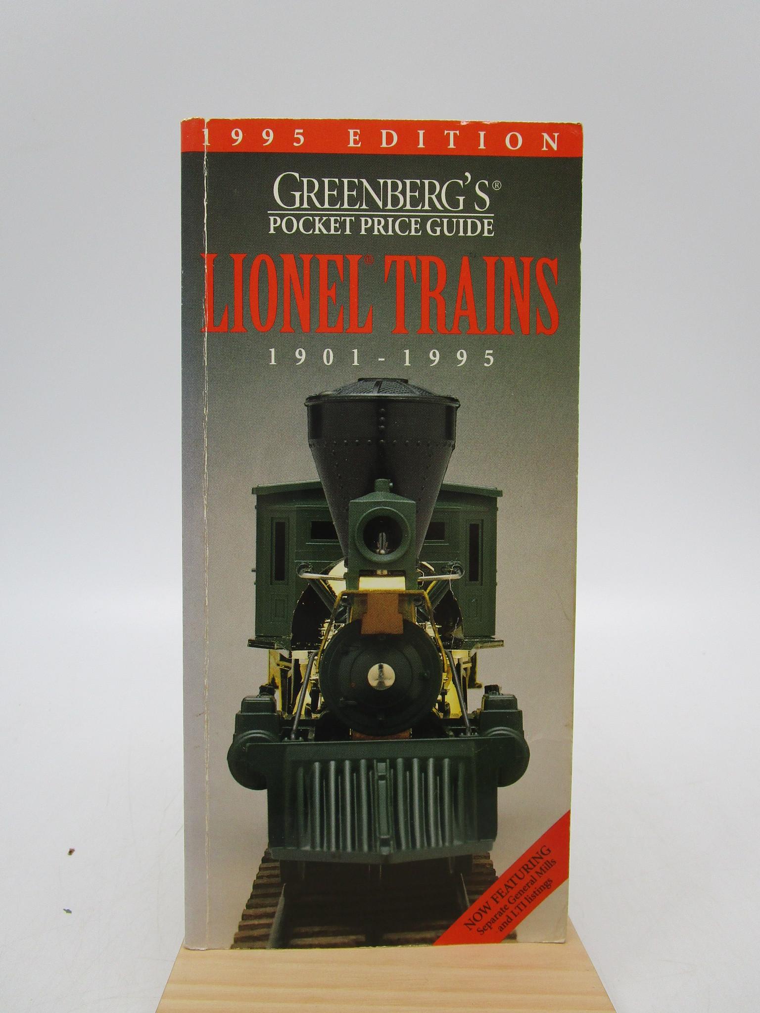 Image for Greenberg's Pocket Price Lionel Trains 1901-1995 (Greenberg's Pocket Price Guide Lionel Trains)