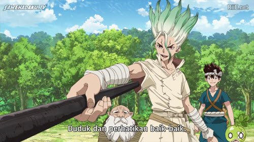 Download Dr Stone Episode 11 Subtitle Indonesia