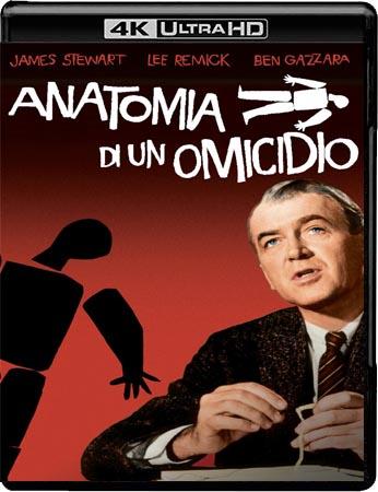 Anatomia di un omicidio (1959) Blu-ray 2160p UHD HDR10 HEVC DTS-HD 2.0 iTA/Multi TrueHD ENG