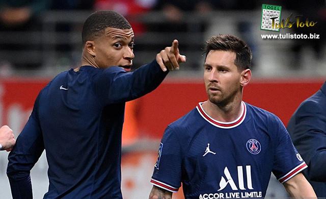 Hasil Pertandingan Liga Prancis: Lionel Messi Jalani Debut Kylian Mbappe Bawa PSG Menang