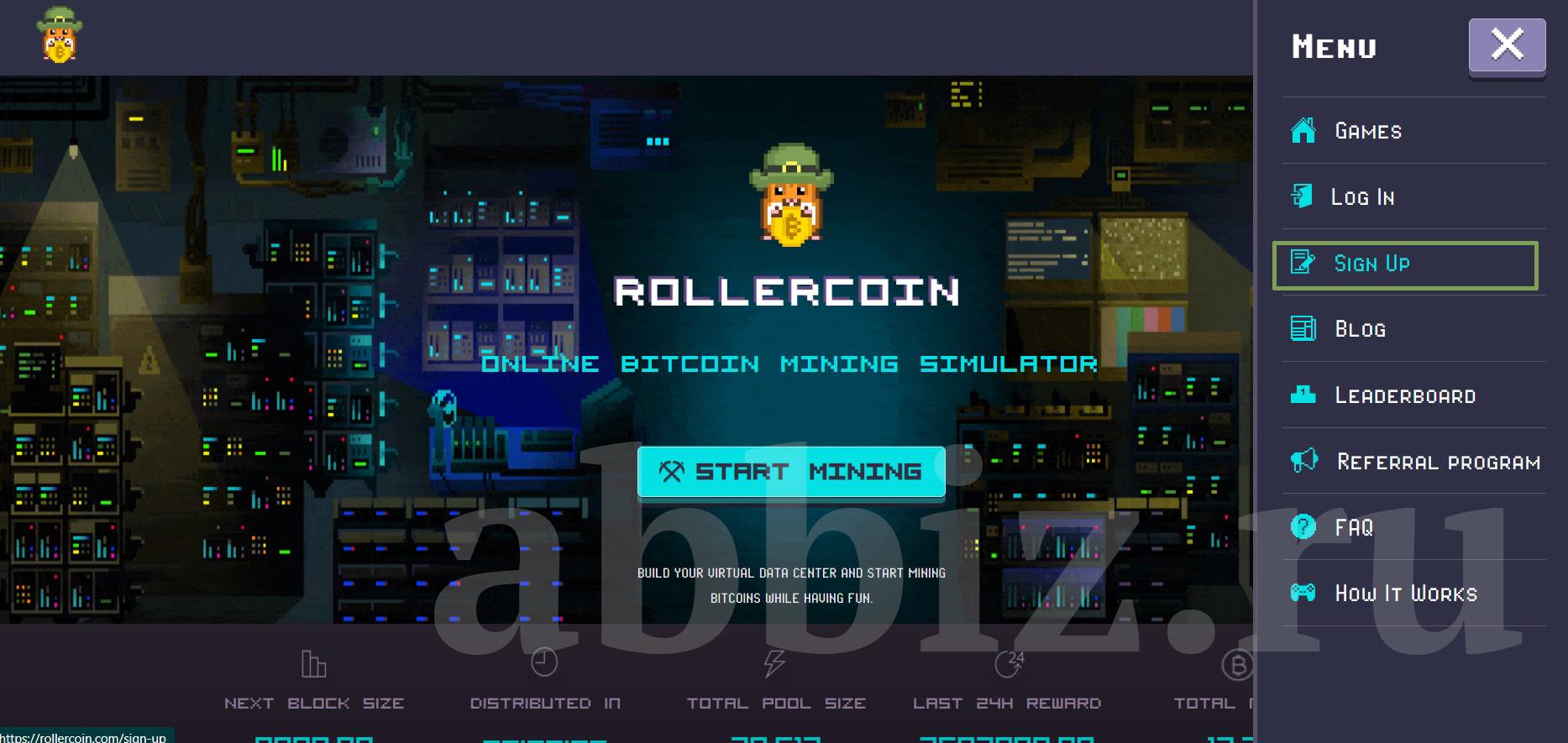 Заработок на играх ROLLERCOIN | Аббатство Бизнеса 2