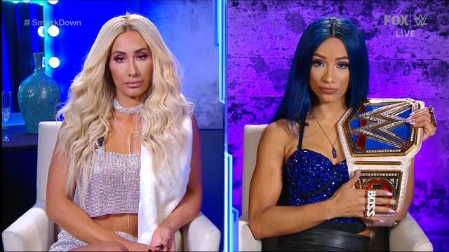 Entrevista a Sasha Banks y Carmella TLC