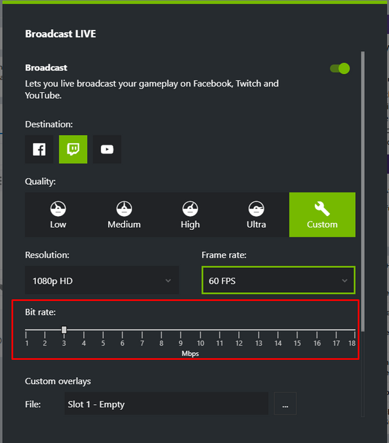 Nvidia - Shadowplay Question