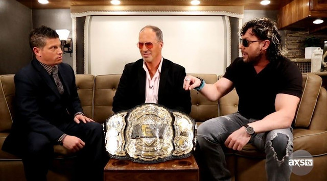Campeón Mundial de AEW Kenny Omega en Impact Wrestling