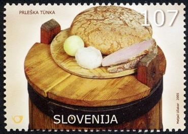 Slovenia stamps NATIONAL-DISH-2005-2