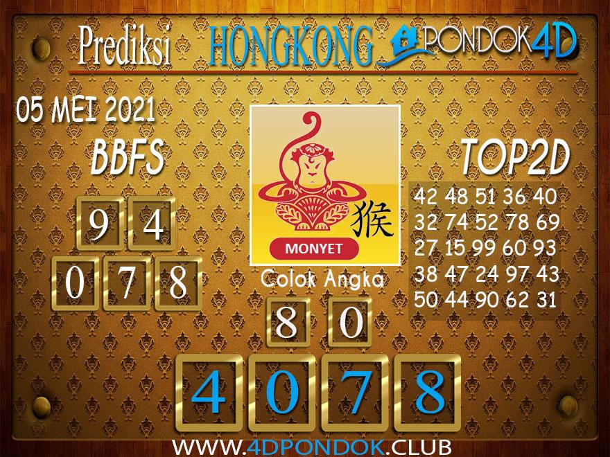 Prediksi Togel HONGKONG PONDOK4D 05 MEI 2021